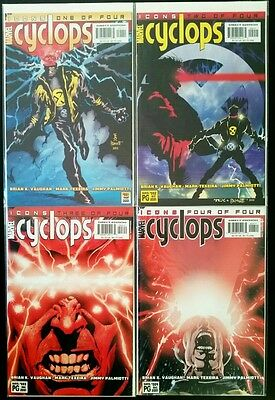 CYCLOPS #1 - 4 COMPLETE SERIES (MARVEL ICON Comics) Comic Book VF-NM