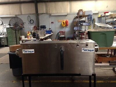 Thermaco Big Dipper  W-750-IS, Automatic Grease Interceptor 75 gpm