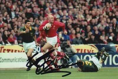 Wales Hand Signed Craig Quinnell 6X4 Photo Rugby Union 3.