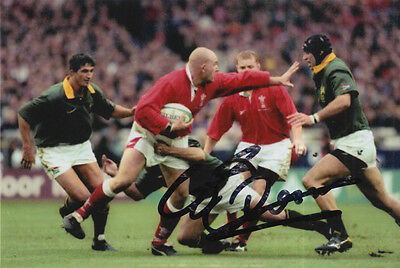 Wales Hand Signed Craig Quinnell 6X4 Photo Rugby Union 7.