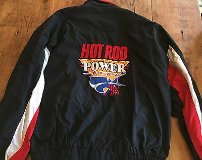 Vintage 1998 Hot Rod Power Tour Jacket~Genuine Collectors Item~Like New~XL