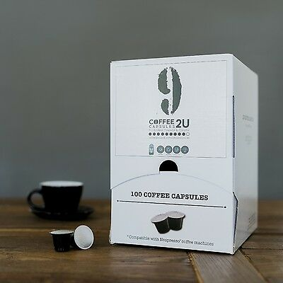 COFFEE CAPSULES 400 PK BLEND 9- Nespresso Compatible Capsules/Pods