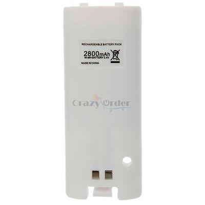 High Quality 2800mAh Rechargeable Battery Pack For Nintendo Wii Controller New