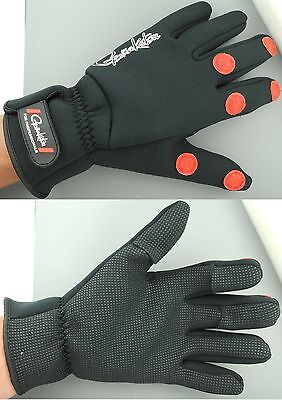 Gamakatsu Power Thermal Neopren Fleece Handschuhe L XL Restposten  Sonderposten