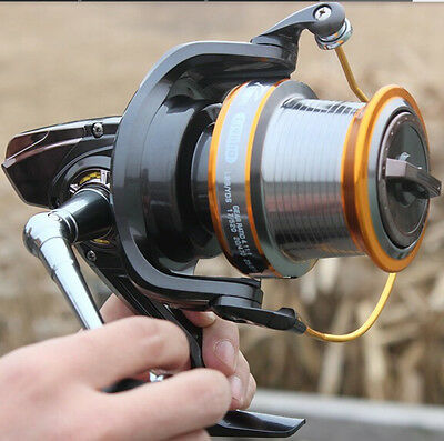 Lj9000 Big Strong Saltwater Freshwater Spinning Fishing Tackle Reel Casting Reel