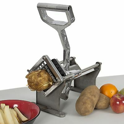 Potato French Fry Fruit Vegetable Cutter Slicer Commercial Quality W/ 3 Blades X