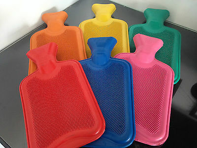 Z245 New 2L Liter & 500 Ml Large Hot Water Natural Rubber Ribbed Bottle Warmer