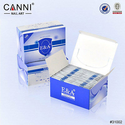 CANNI UV Gel Cleanser Wipes Prep Wipe Alcohol Gel Polish Nail Wrap No Residue