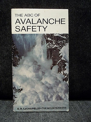 Vintage Tourist Brochure The ABC Of Avalanche Safety Travel Guide Mountaineering
