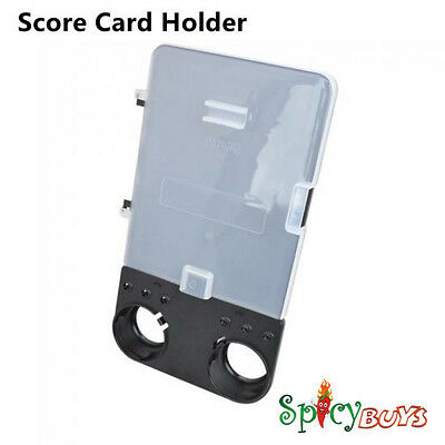 Spicybuys Golf Trolley Score card Holder kit - fit your golf cart easily