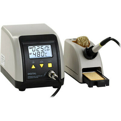 ESD soldering station with LCD 24V 60W soldering iron