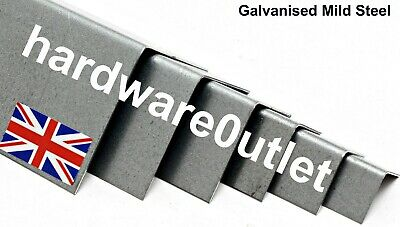 Galvanised Folded Angle Corner Protector 1.2mm - 10 Sizes & 15 Lengths available
