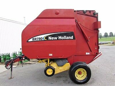 New Holland BR780 Round Hay Baler Local Trade Very Nice