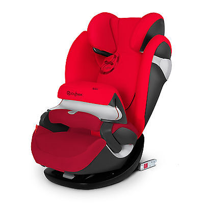 Car Seat Cybex Pallas M-Fix gold line collection Mars Red 1/2/3 (9-36 kg)