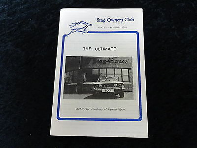Stag Owners Club Magazine feb 1985