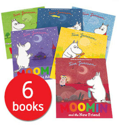 Moomins Picture Book Collection - 6 Books