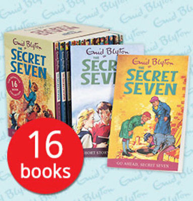 The Secret Seven Boxed Collection - 16 Books