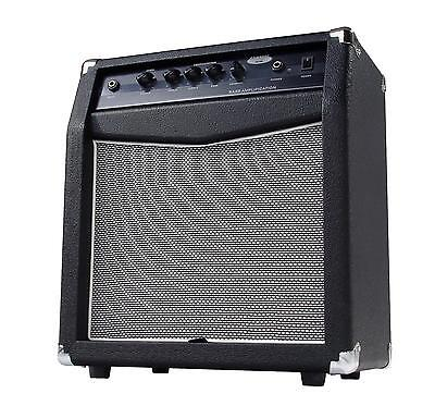 Classic Cantabile Bass Combo Amplifier Amp Compact Black 60W 10'' Speaker
