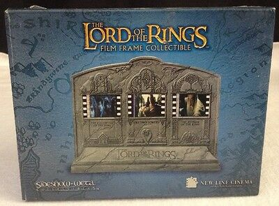 Lord of the Rings Film Frame Collectible FILM STRIPS ARE UNIQUE TO EACH FRAME