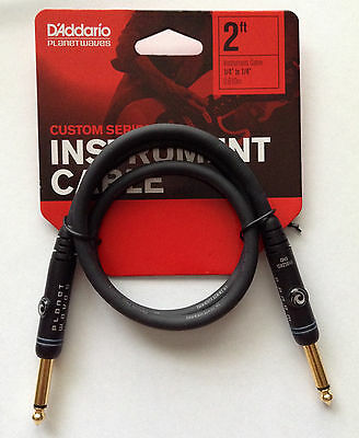 Planet Waves Daddario Custom Series Patch Cable - 2ft; length