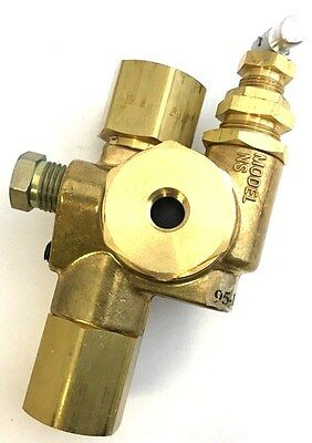 Pilot Unloader Check Valve For Gas Powered Air Compressors 1/2'' X 1/2'' 30Cfm
