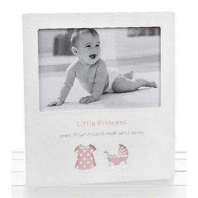 Girl Cut Out Frame Little Princess Photo Frame Baby Shower Christening 53564 UK