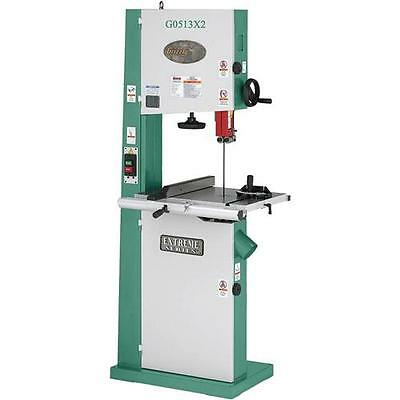 "G0513X2 Grizzly 17"" Bandsaw 2HP w/ Cast Iron Trunnion"