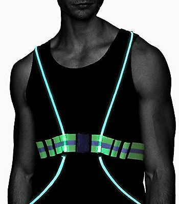 Atlecko - LED Running Vest & Belt 360 Degrees High Visibility with Reflective...