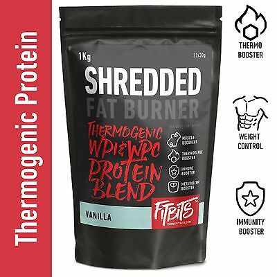 Thermogenic Fat Burner . Whey Protein Wpi Wpc Blend . For Weight Loss & Cutting