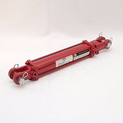 """Tie Rod Cylinder 2"""" x 10"""",  Hydraulic Double Acting, 2 IN Bore x 10 IN Stroke"""