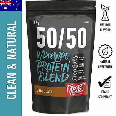 1 - 5Kg Whey Protein Isolate / Concentrate - Chocolate Vanilla - Wpi Wpc Powder