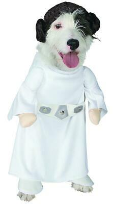 Princess Leia White Classic Star Wars Fancy Dress Halloween Pet Dog Cat Costume