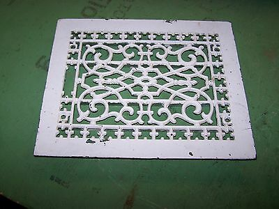 Vintage Cast Iron Grate Floor Register 9 3/4X11 3/4
