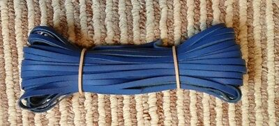 "Kangaroo Lace JACARANDA Kangaroo Leather Lacing (3.0mm 1/8"") 10 meter hank"