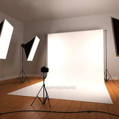 Cotton 70 x 106 Inch White Muslin Backdrop Photo Studio Photography Background