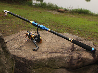 Fishing Rod and Reel Combo Tackle Sea Telescopic Spincasting Fishing Rods Set