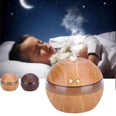 Air Aroma Essential Oil Diffuser LED Ultrasonic Aroma Aromatherapy Humidifier CB
