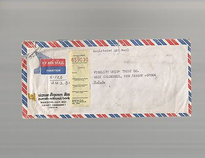 Postal History   Registered Air Mail