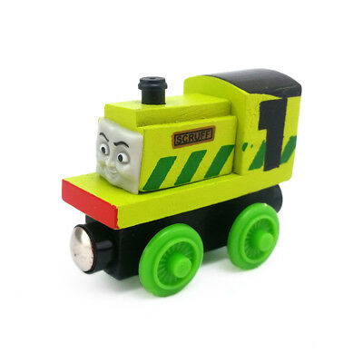 Thomas & Friends Scruff Magnetic Wooden Toy Train Loose New In Stock