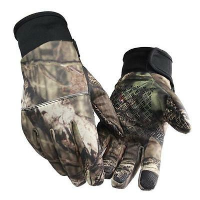 7676 New Outdoor Winter Waterproof Bionic Slip Full Finger Gloves Ski Hunting