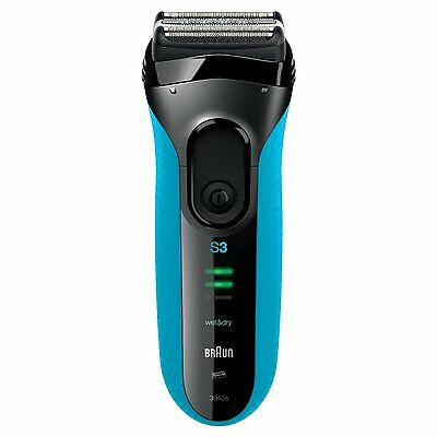Braun Series 3 3040s Men's Electric Foil Shaver Wet and Dry, Rechargeable