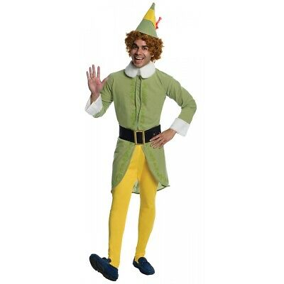 Buddy the Elf Costume Adult Funny Christmas or Halloween Fancy Dress