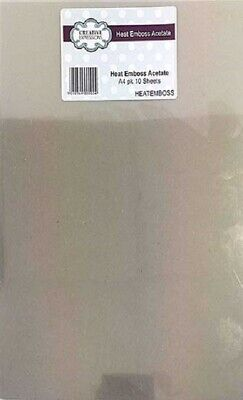 Heat Resistant Acetate A4 10/Pkg FREE SHIPPING