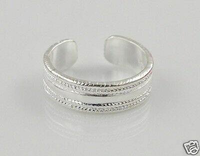 925 Sterling Silver (Plated) Toe Ring