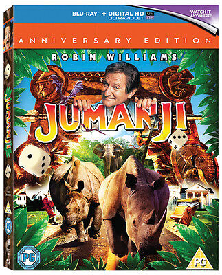 Jumanji (20th Anniversary Edition) [Blu-ray]