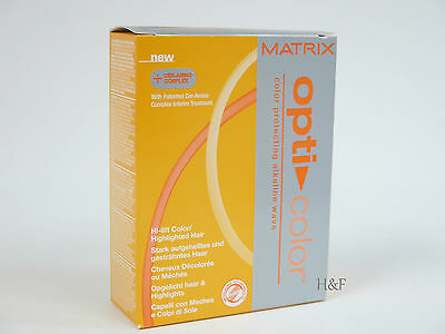 Matrix Opti Color Perm - Gentle For High Lift Colour Hi-Lighted or Bleached Hair