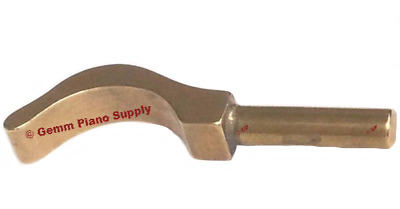 Piano Brass Hammer Smoothing Iron - 3/8""