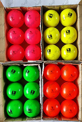 Cricket Soft indoor training club outdoor Senior wind ball Pack of  2,4,6,12 pcs