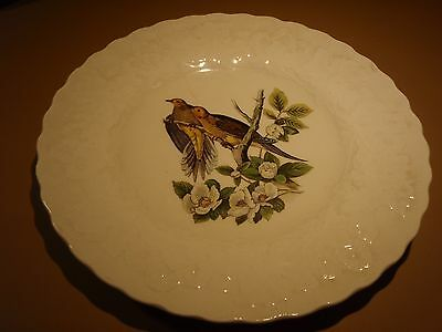 Two Vintage Alfred Meakin England Birds of America Plates