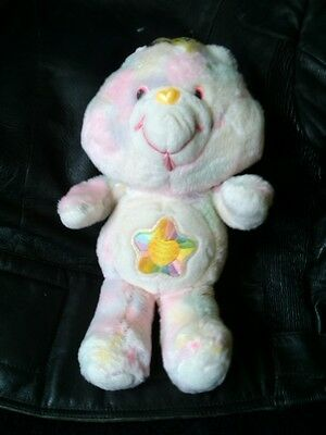 "* Vintage 1980's Kenner 13"" Plush True Heart Care Bear"